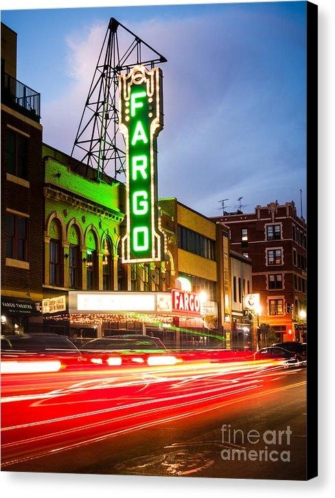 Paul Velgos - Fargo Theatre and Downtow... Print