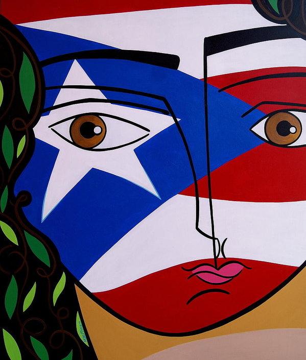 Mary Tere Perez - Borincana Print