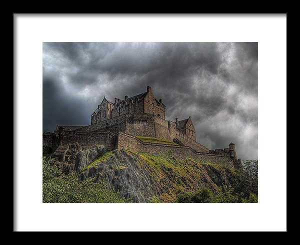 Amanda Finan - Rain Clouds Over Edinburg... Print