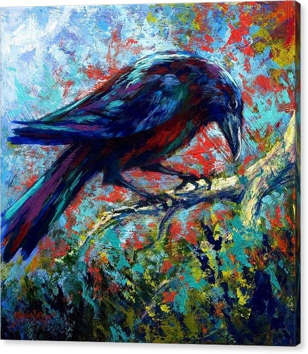 Marion Rose - Lone Raven Print