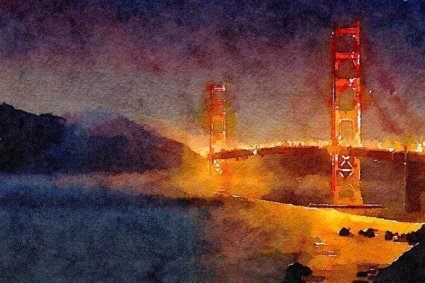Matthew Arnold - Bridge 1 Print