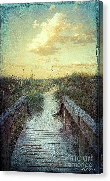 Linda Olsen - Golden Pathway Print