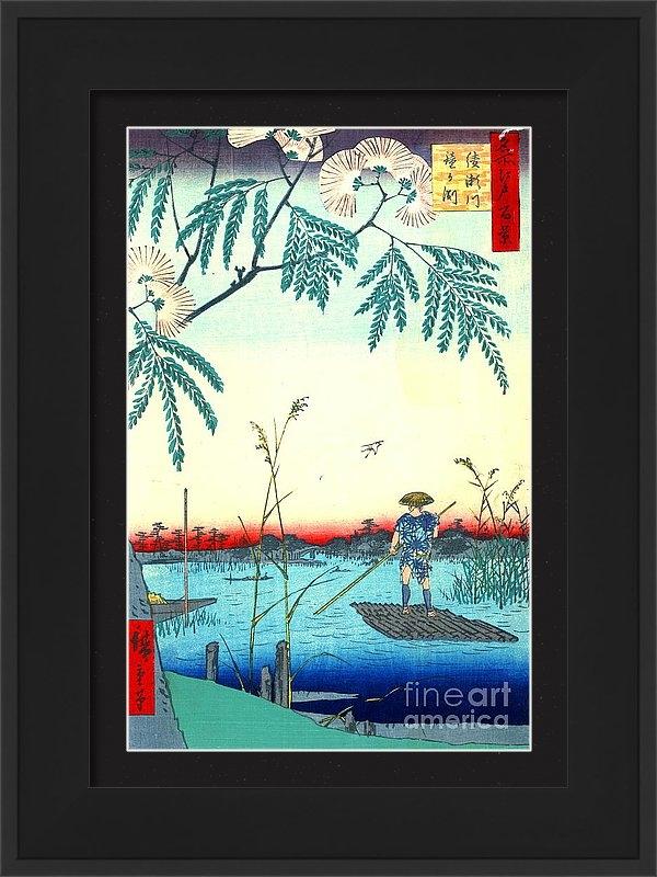 Padre Art - Ayase River 1857 Print