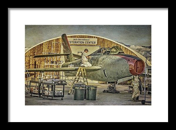 Sandra Selle Rodriguez - Final Touches F-84F Thund... Print
