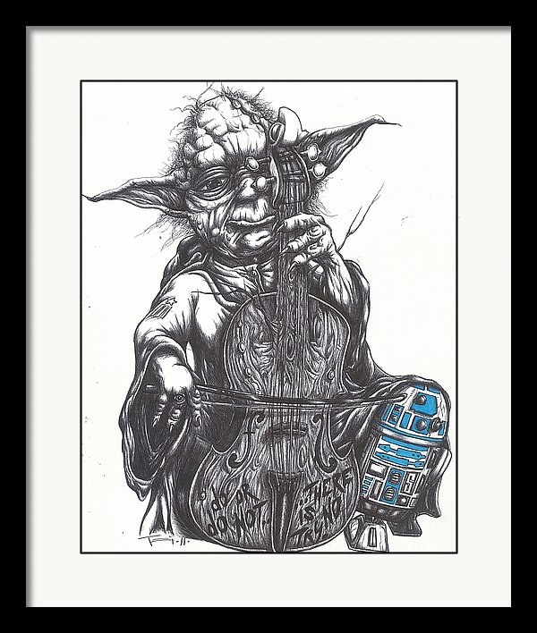 Tai Taeoalii - Yoda Soothes Baby R2 With... Print