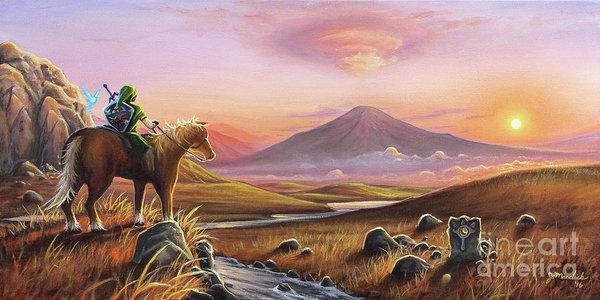 Joe Mandrick - Adventure Awaits Print
