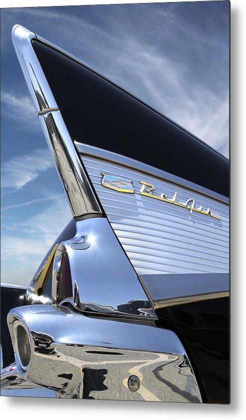Mike McGlothlen - Classic Fin - 57 Chevy Be... Print