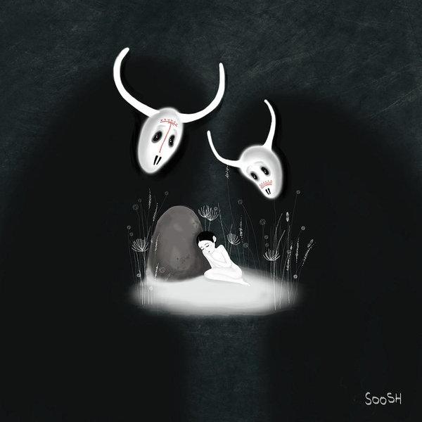 Soosh - Sleeping girl Print