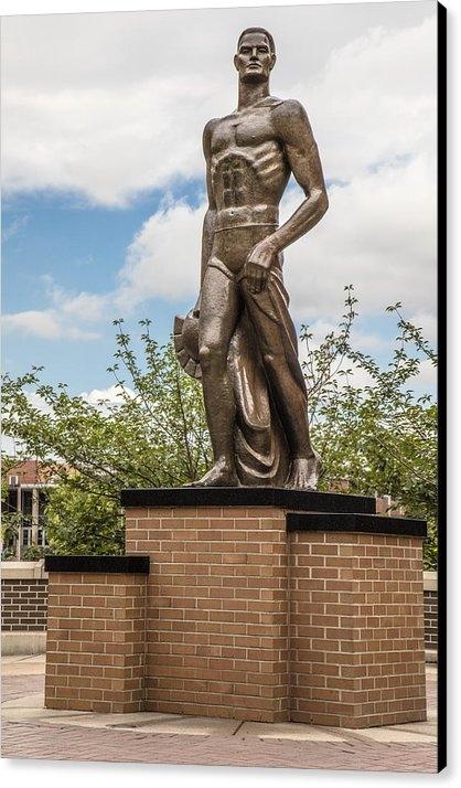 John McGraw - The Spartan Statue - Mich... Print