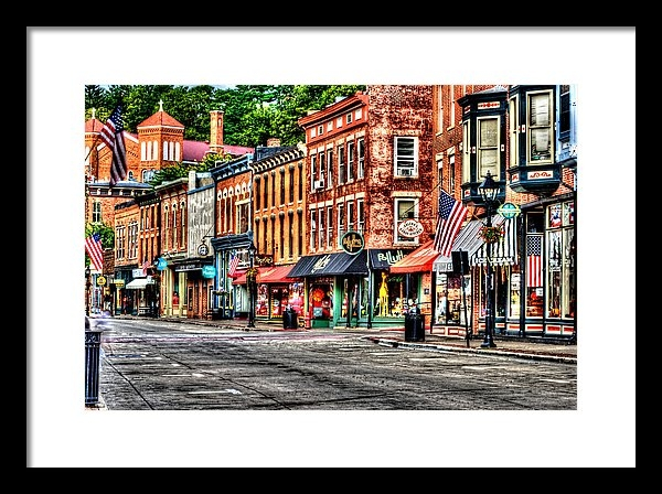 Roger Passman - Galena Main Street Early ... Print