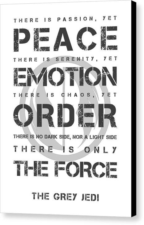 Cornel Vlad - The Grey Jedi Print