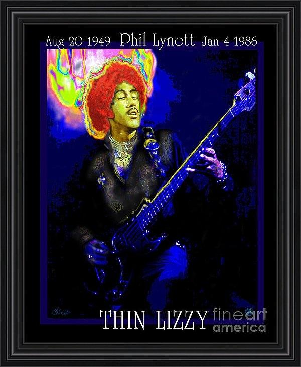 Jerry Kool - Phil Lynott Tribute Print