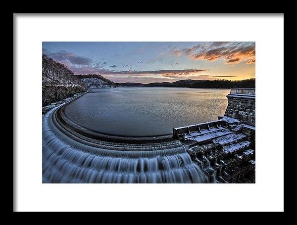 Richard Zoeller - Dam Cold Print