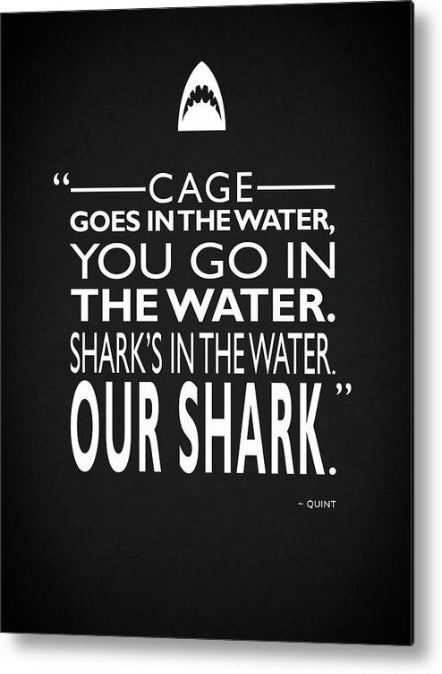 Mark Rogan - Sharks In The Water Print