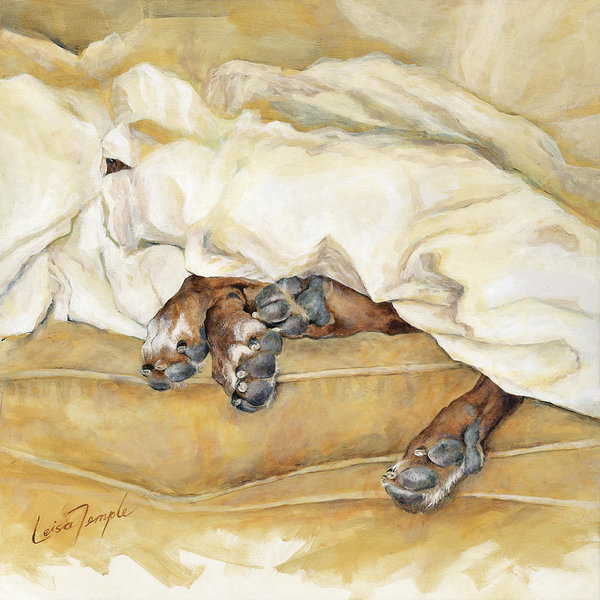 Leisa Temple - Under the Covers Print