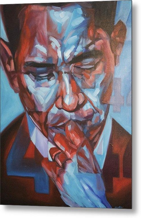Steve Hunter - Obama 44 Print
