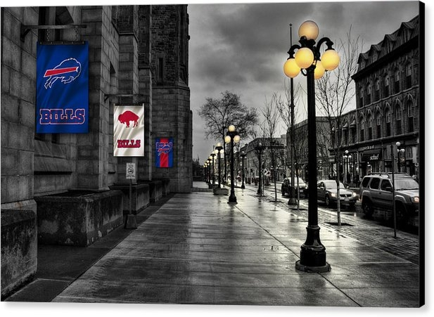 Joe Hamilton - Buffalo Bills Flags Print