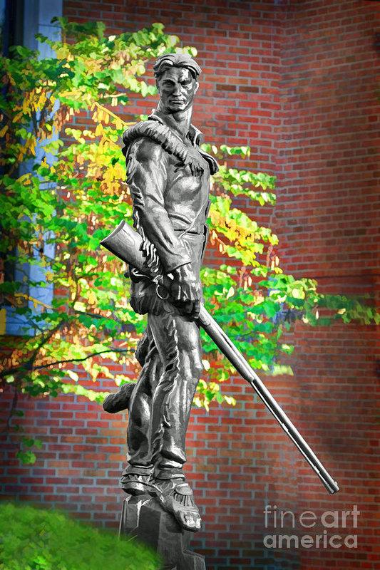Dan Friend - Mountaineer statue Print