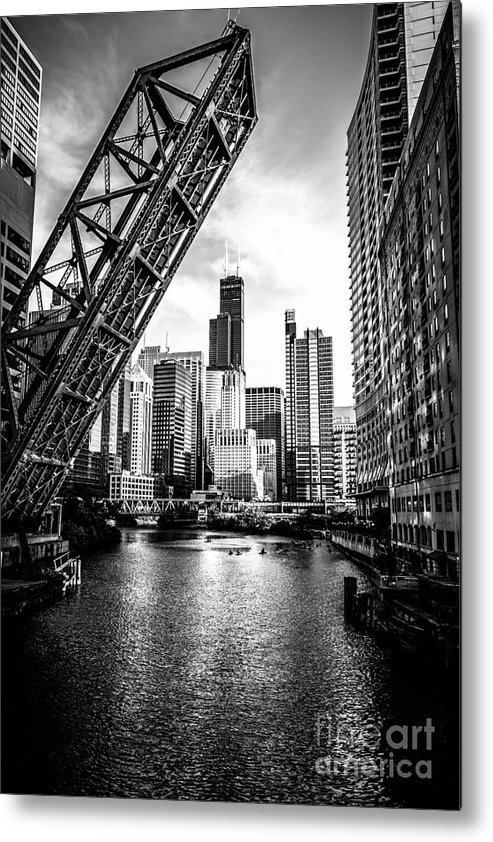 Paul Velgos - Chicago Kinzie Street Bri... Print