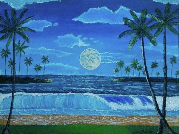 Nicolette T Orozco - The moon Print