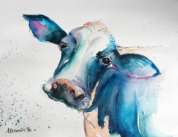 Amanda Braun - Beautiful Bessie Print
