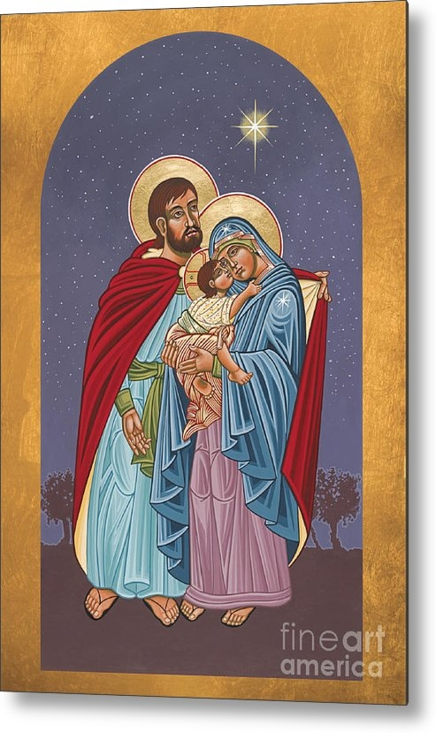 William Hart McNichols - The Holy Family for the H... Print