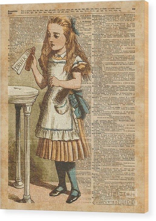 Jacob Kuch - Alice in Wonderland Drink... Print