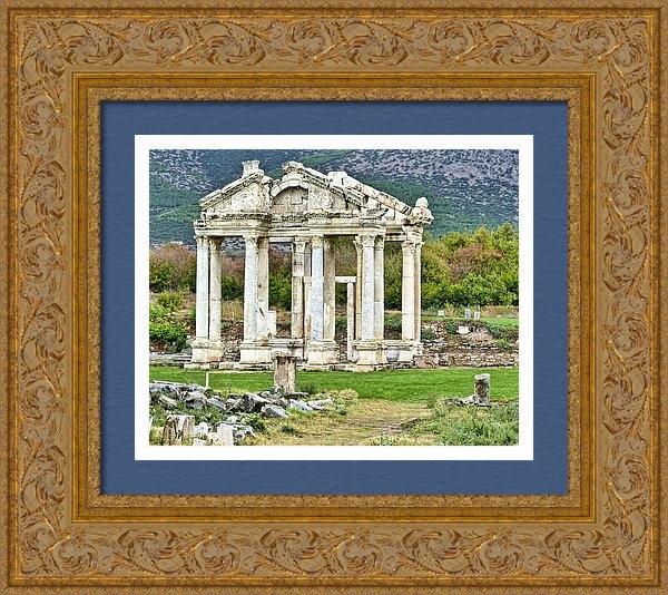 Betty Eich - Temple of Aphrodite Print