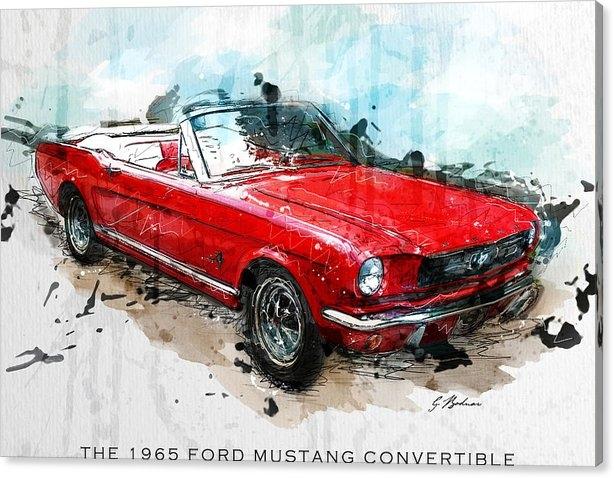 Gary Bodnar - The Red Pony 2 Print