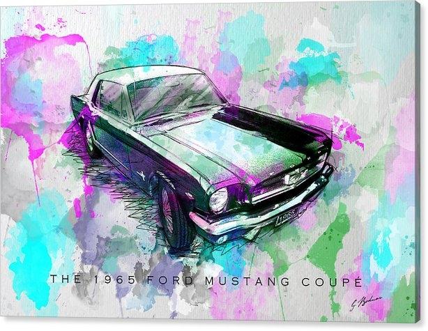 Gary Bodnar - Watercolor Pony  Print