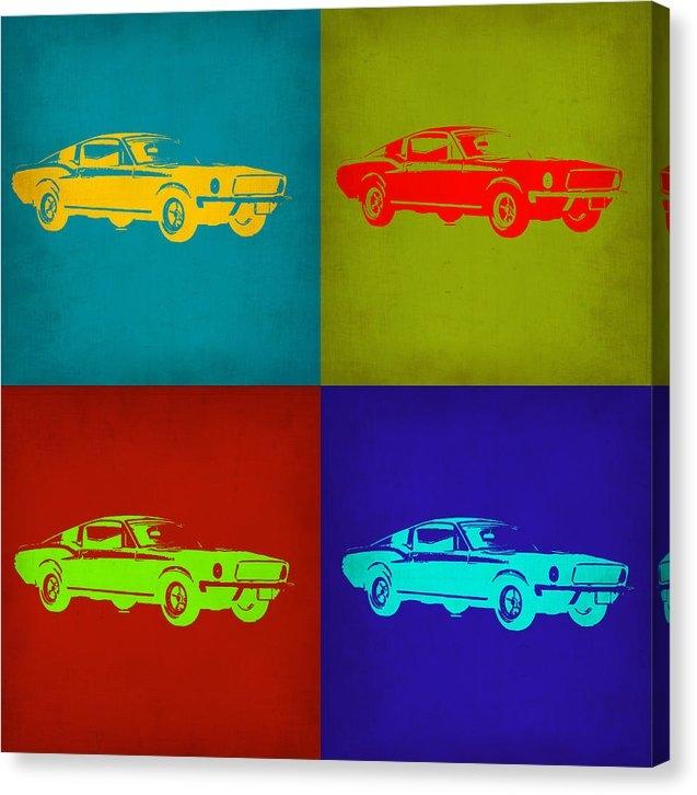 Naxart Studio - Ford Mustang Pop Art 1 Print