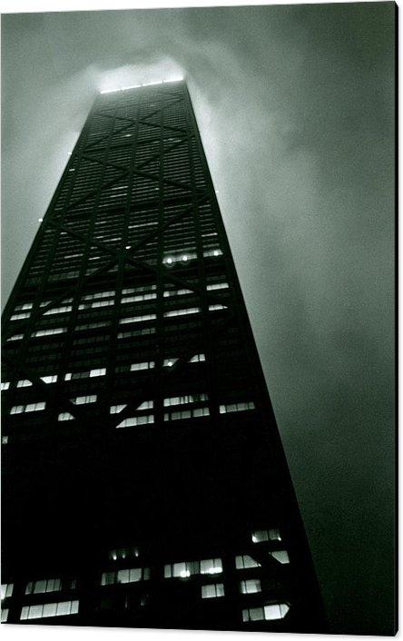 Michelle Calkins - John Hancock Building - C... Print