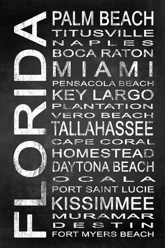 Melissa Smith - SUBWAY Florida State 2 Print
