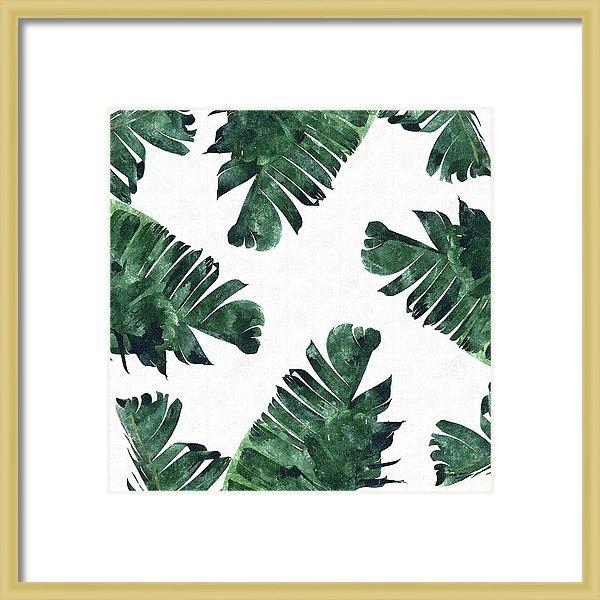 Uma Gokhale - Banan Leaf Watercolor Print