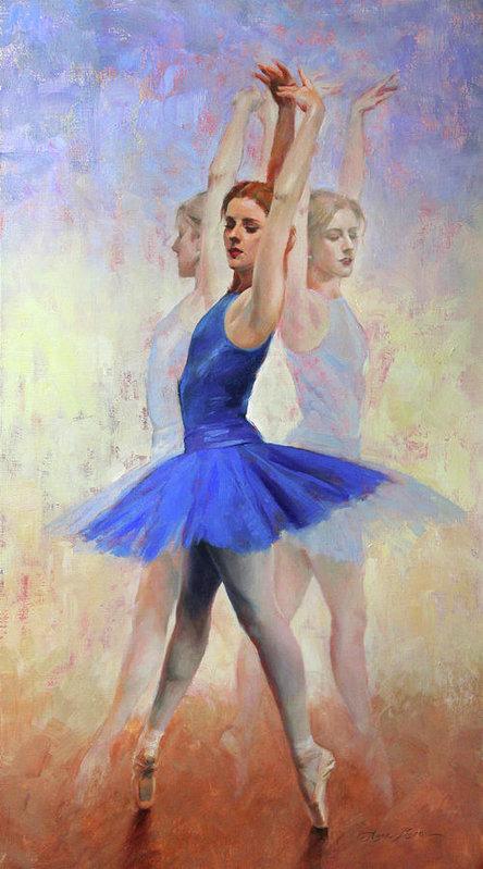 Anna Rose Bain - Three Graces Print