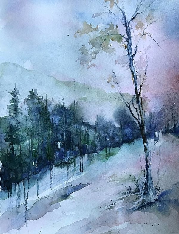 Robin Miller-Bookhout - Winter Paradise Print