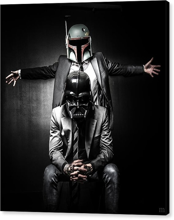 Marino Flovent - Star Wars Suit Up Print