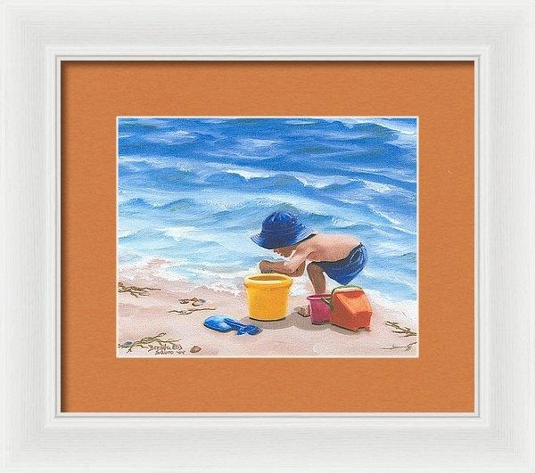 Brenda Ellis Sauro - Beach Toys Print