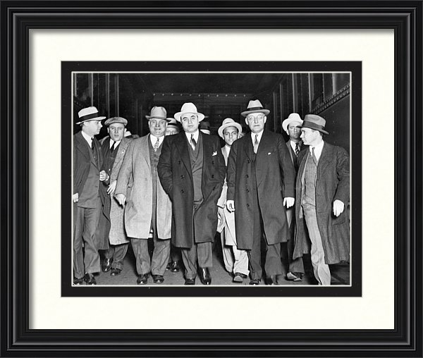 Peter Nowell - Chicago Mobsters 1930 Al ... Print