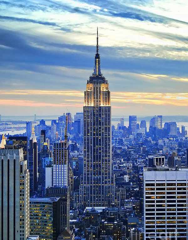 Sabine Jacobs - Empire State Building New... Print
