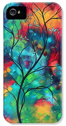 Bold Rich Colorful Landscape Painting Original Art COLORED INSPIRATION by MADART by Megan Duncanson