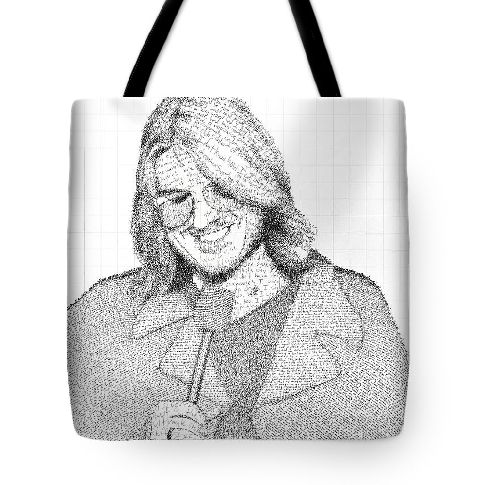 Tote bag drawing -  I Have Gotten So Many Compliments On This Bag Even From People Who Don T Know Who Mitch Is I Love It Thank You