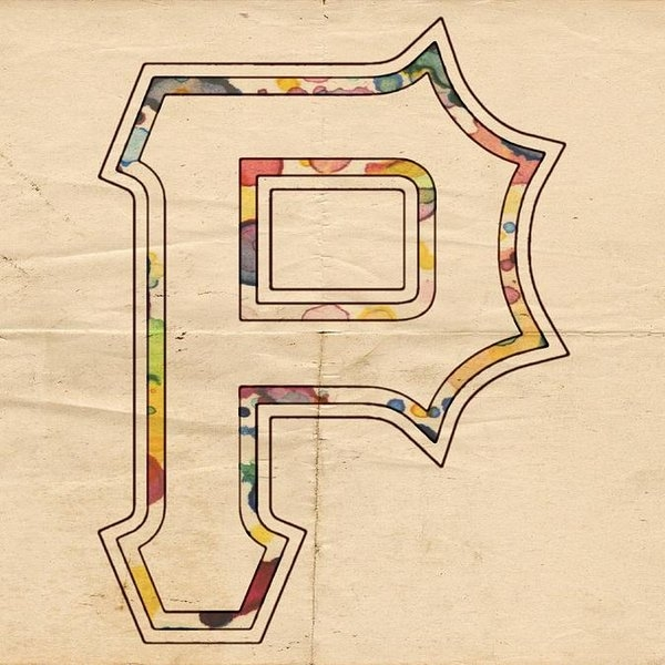 Florian Rodarte - Pittsburgh Pirates Logo Art