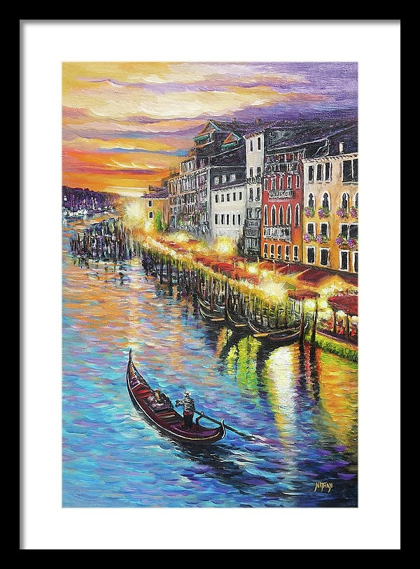 Nathan Lewis - Romantic Venice Sunset