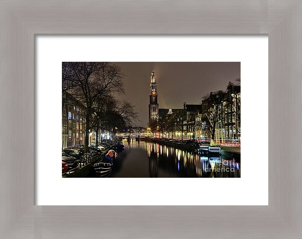 Carlos Alkmin - Amsterdam by night - Prinsengracht