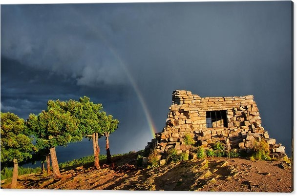 Flying Z Photography By Zayne Diamond - Kawanis Cabin Rainbow, Sandia Crest, New Mexico