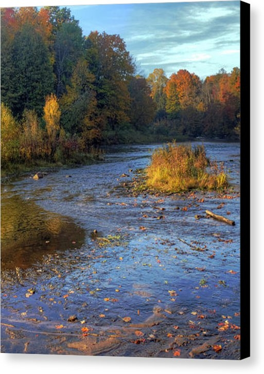 Twenty Two North Photography - Manistee River in Fall
