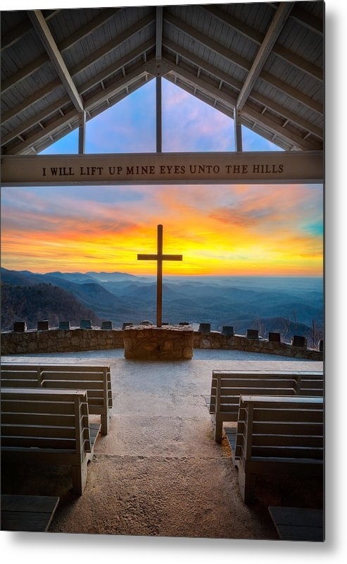Dave Allen - South Carolina Pretty Place Chapel Sunrise Embraced