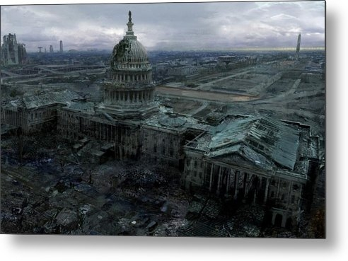 Fran Sotu - Sci Fi Apocalypse Destruction Post Apocalyptic Washington Dc