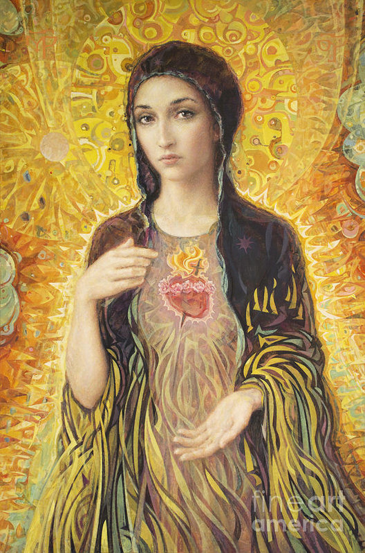 Smith Catholic Art - Immaculate Heart of Mary olmc